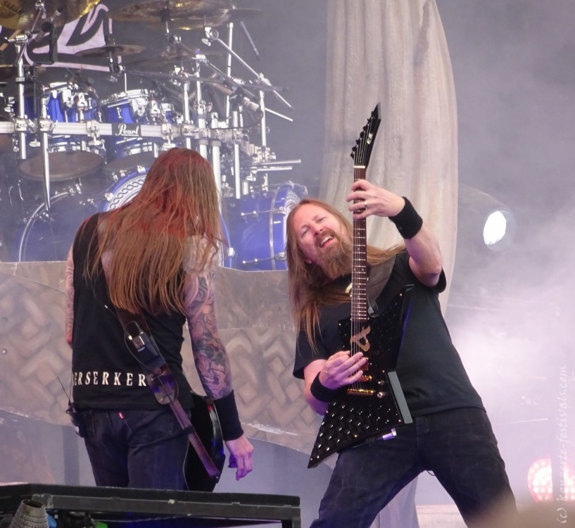 Amon Amarth Konzert bei Rock am Ring (2019