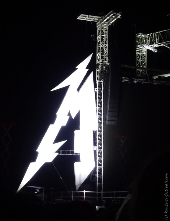 Metallica auf dem Maimarkt Mannheim (2019)