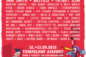 Lollapalooza Festival Tempelhofer Feld in Berlin (2015)