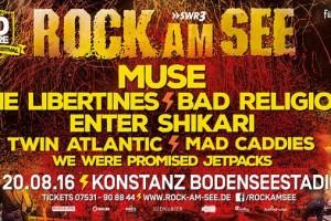 Rock am See Festival im Bodenseestadion Konstanz (2016)