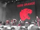 Code Orange in der Berliner Wuhleide (2017)