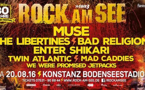 Rock am See im Bodenseestadion Konstanz (2016)