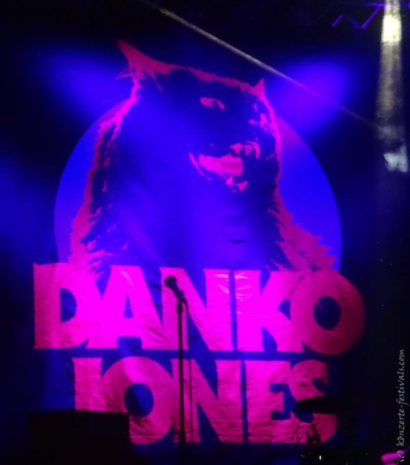 Danko Jones im Huxleys Berlin (2017)