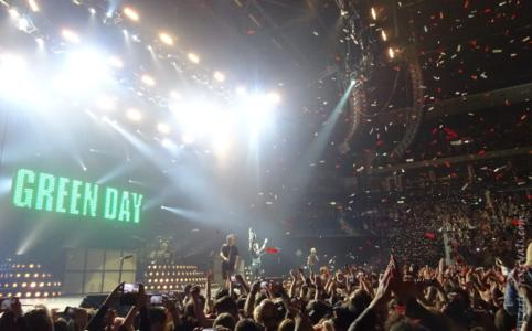 Green Day in der Mercedes Benz Arena Berlin im Januar 2017