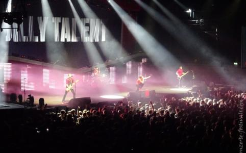 Billy Talent in der Max-Schmeling-Halle in Berlin (2016)
