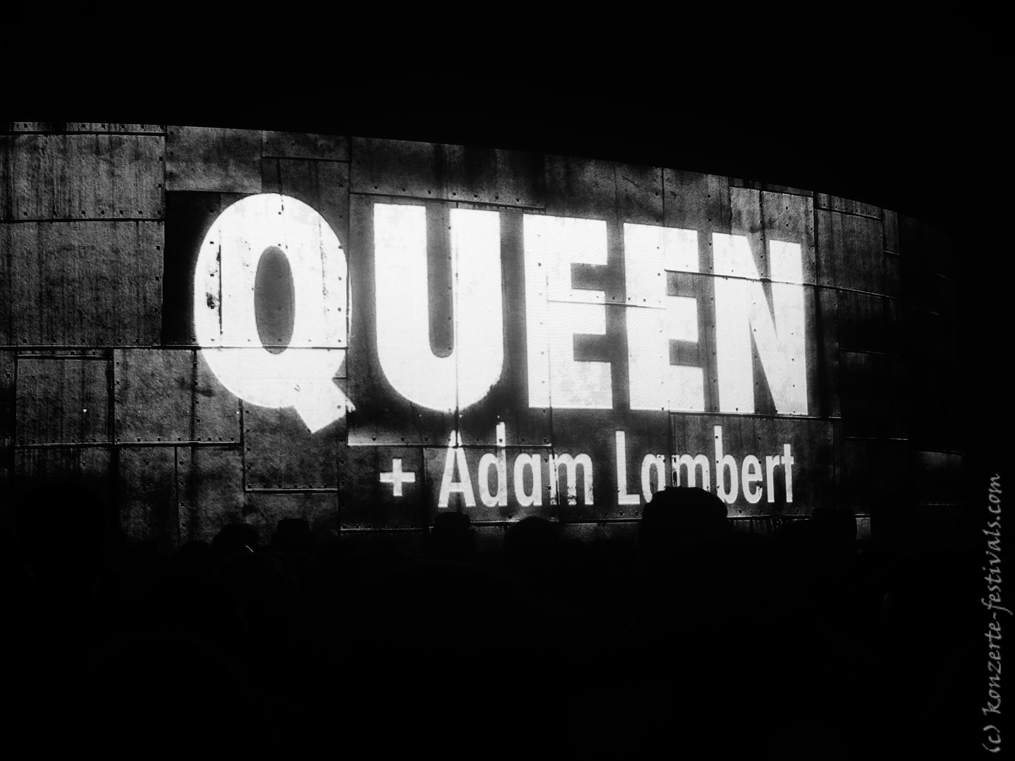 Queen & Adam Lambert in der Mercedes Benz Arena Berlin (2018)