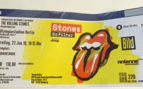 Rolling Stones im Olympiastadion Berlin (2018)