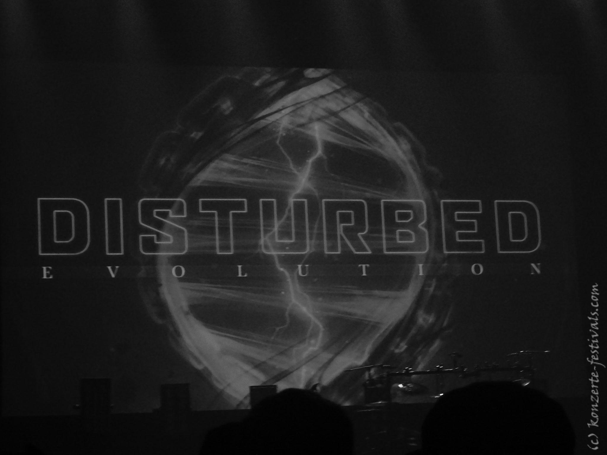 Disturbed in der Verti Music Hall Berlin mit Skindred (Evolution World Tour) (2019)