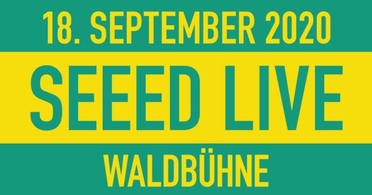 Seeed live in der Waldbühne Berlin (2019)