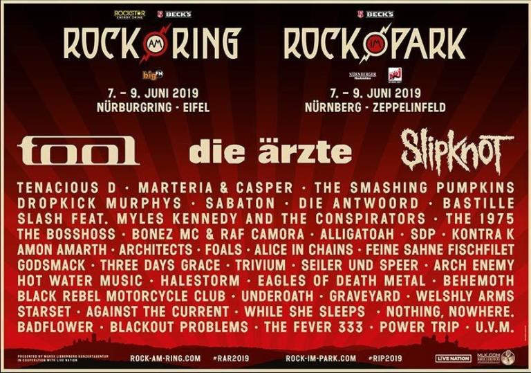 Rock am Ring 2019 - Flyer