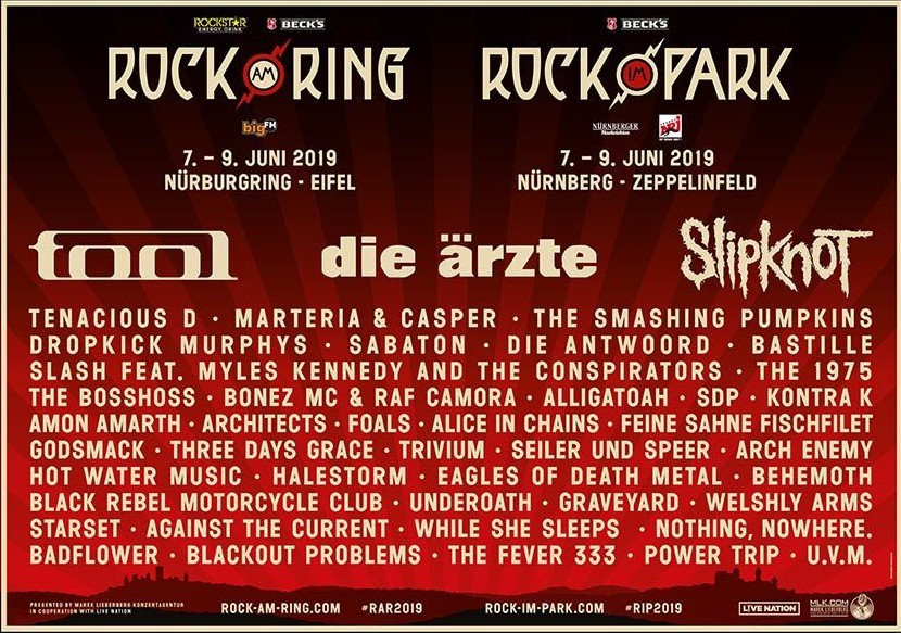 Rock am Ring 2019 - Flyer