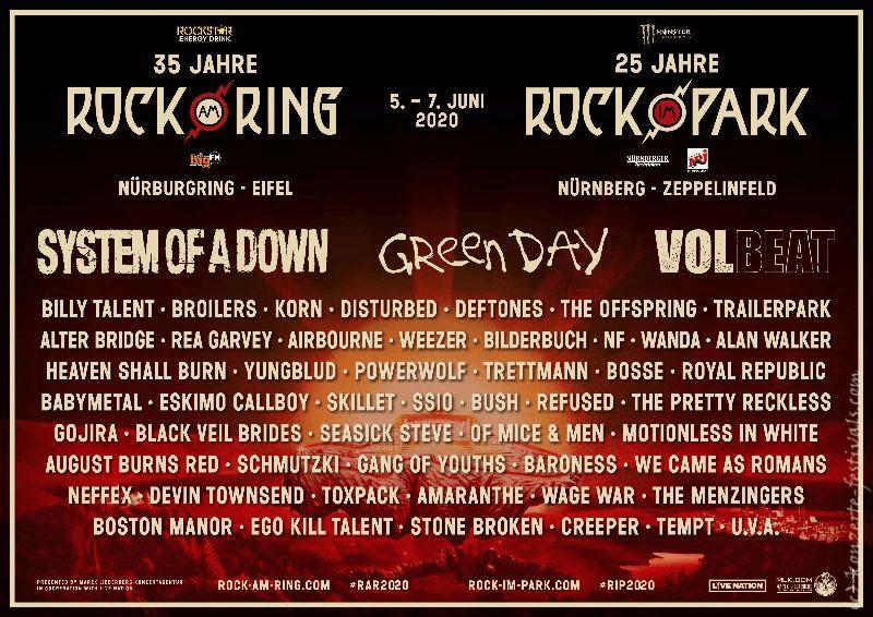 Rock am Ring, Rock am Park, Festival