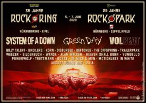 Rock am Ring 2020 Flyer