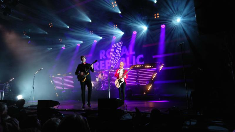 Royal Republic, Berlin, Columbiahalle, Konzert, Bilder