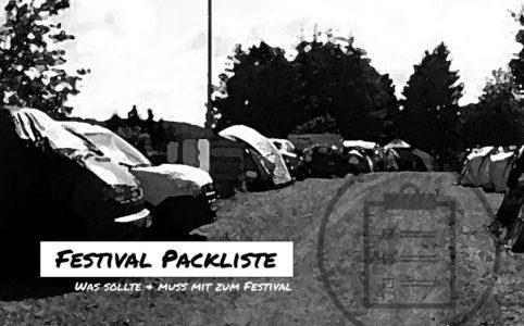 Festival Packliste, Festival, Packliste