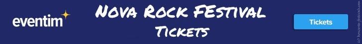 Nova Rock,Festival, Tickets, Festivalkarten, Festivaltickets